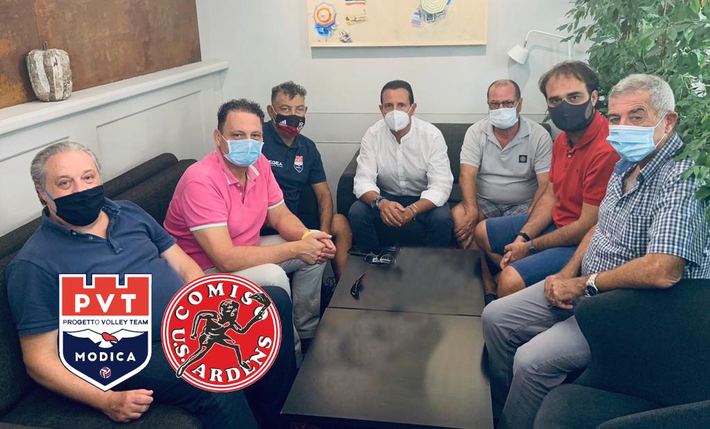L'Ardens Comiso e la PVT Modica avviano una storica collaborazione per lo sviluppo della pallavolo nel sud-est siciliano.